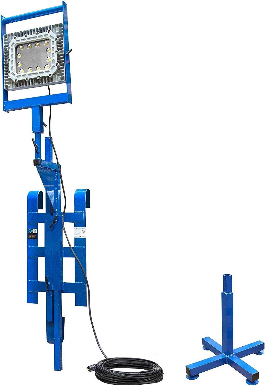 150 Watt Explosion Proof Light - Combo Scaffold Mount & Base Stand Mount - Class 1 Div 1 C&D 141[並行輸入]