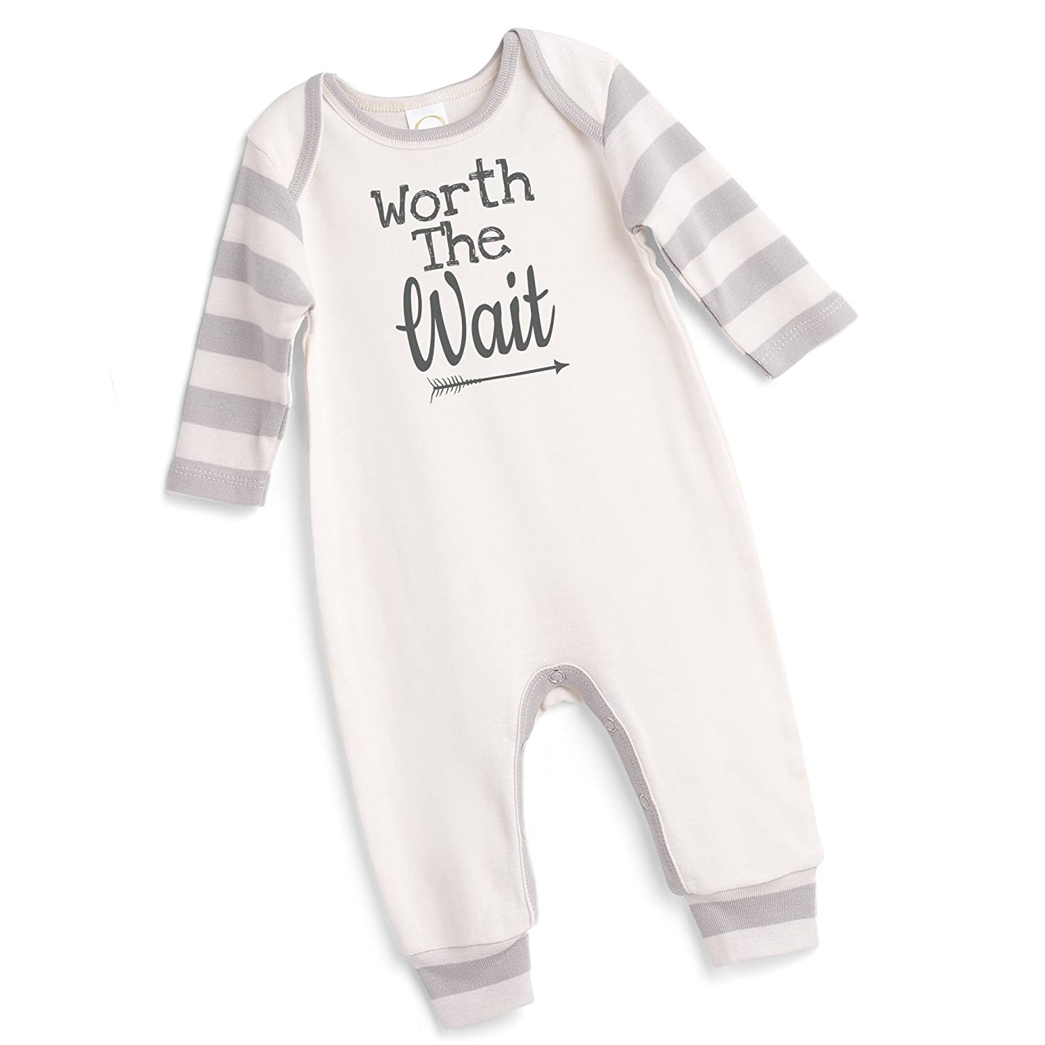 5c7899c13d06 Amazon.com  Tesa Babe Worth The Wait Arrow Romper