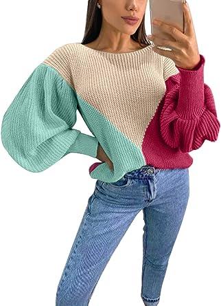 CORAFRITZ Su/éter de manga larga con cuello alto para mujer