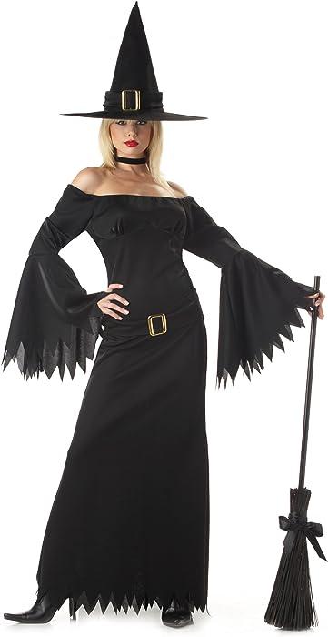 401d456159 Amazon.com  California Costumes Women s Elegant Witch Costume