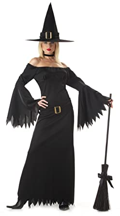 Amazon.com: California Costumes Women's Elegant Witch Costume ...