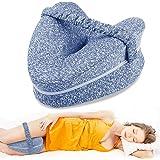 Almohadas posicionadoras de Pierna– Mejor para Pierna, Espalda, y Rodilla Pain- cuña de Espuma con Efecto Memoria…
