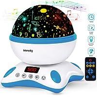 Moredig Proyector Estrellas Bebé, Lámpara Proyector Infantil Luz