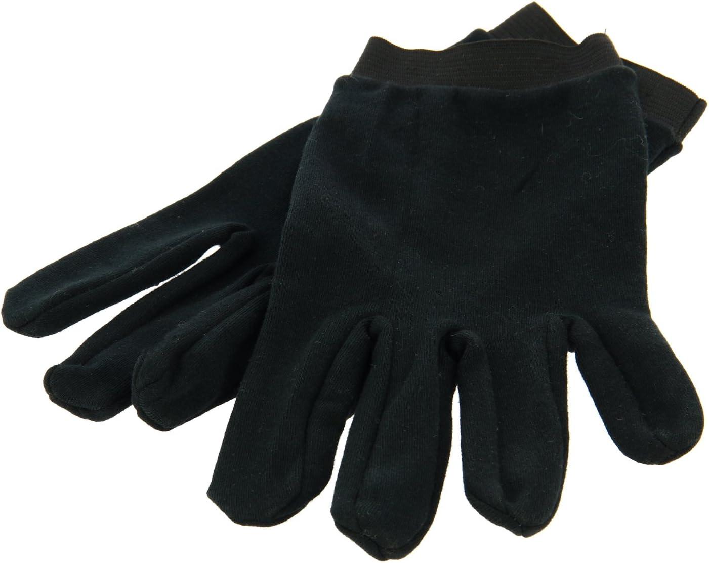 MQS 310752 - Guantes, color negro, talla única, 100% algodón, talla única, ideal para guantes de moto: Amazon.es: Coche y moto