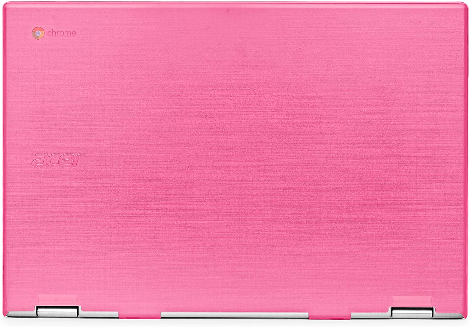 "mCover Hard Shell Case for 2019 15.6"" Acer Chromebook 15 CB315 Series (NOT Compatible with Older Acer chromebook C910 / CB5-971 / CB3-531 / CB515, etc) Laptop Computer (AC15-CB315-Pink)"