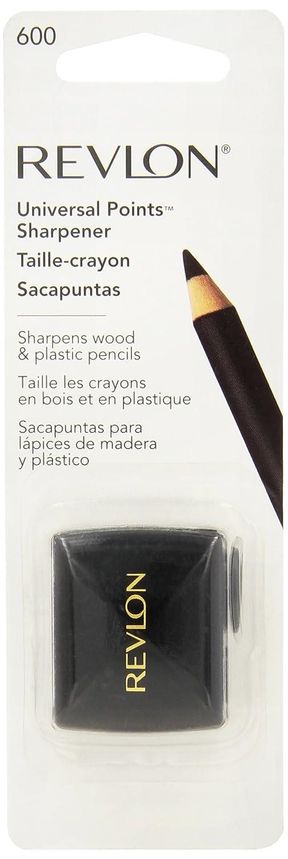 Revlon Universal Points Sharpener, Dual Pencil Sharpener for Lip Liner, Eyebrow, and Eyeliner Pencils : Eye Liners : Beauty