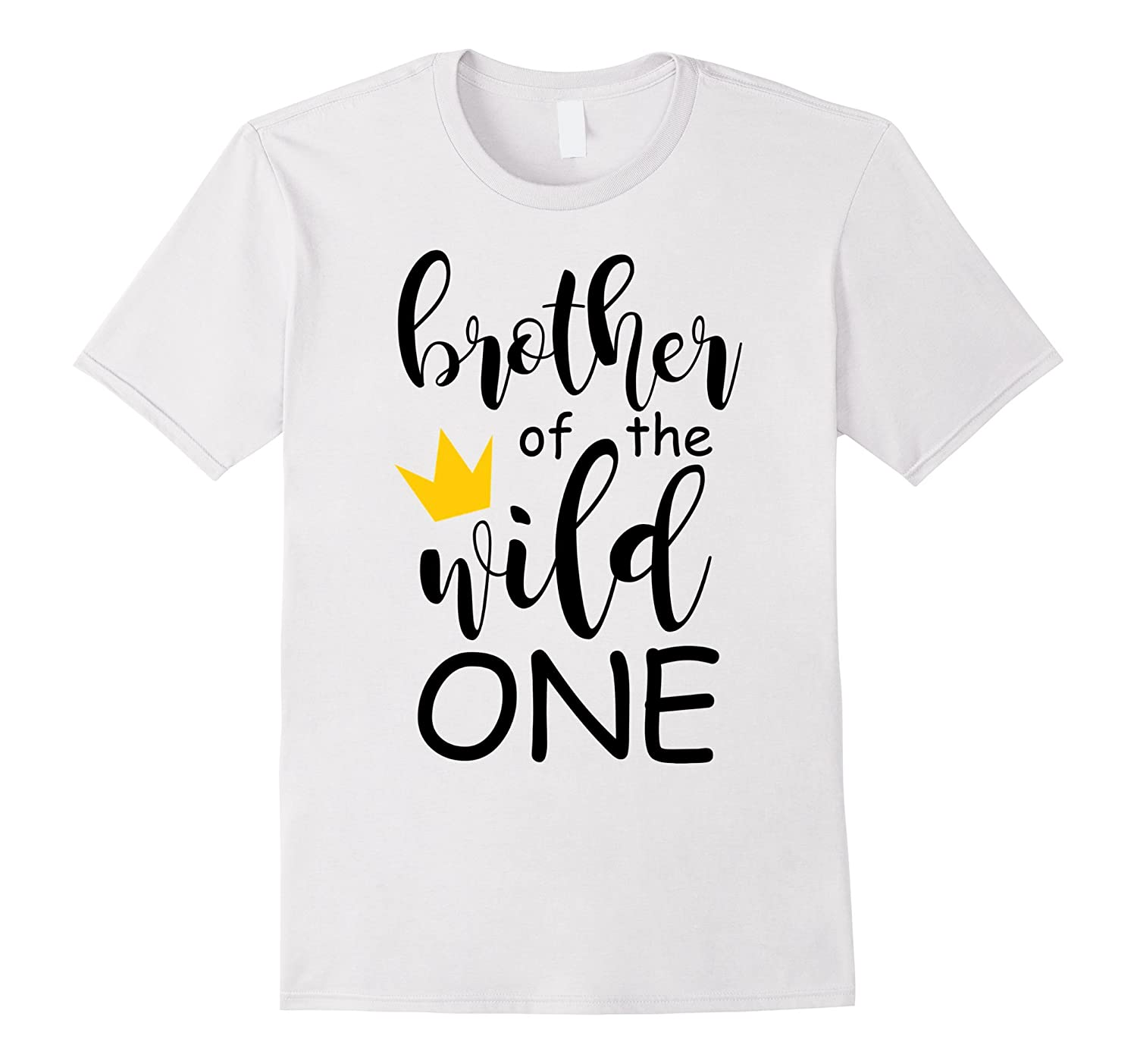 091d6b44 Cute Brother Of The Wild One 1st Birthday Family Matching et-BN ...