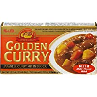 S &B Golden Curry Mild - 4 Paquetes
