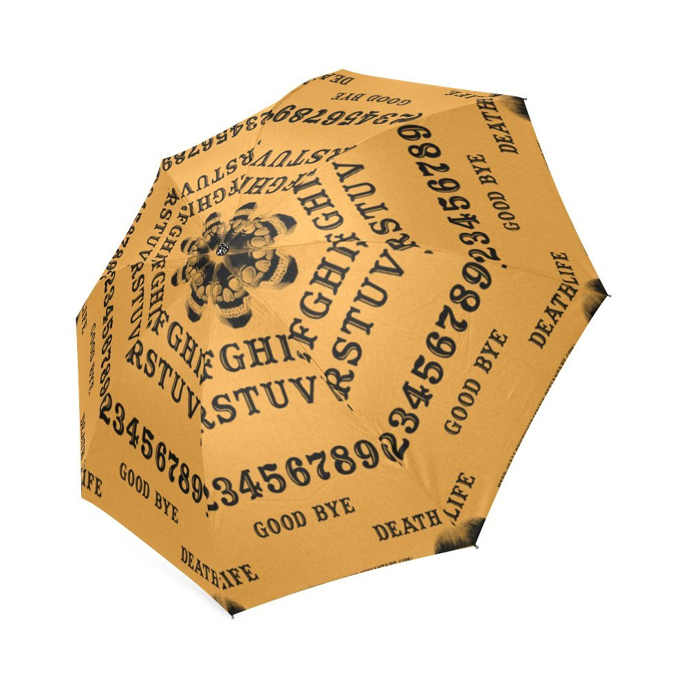Fashionable Ouija board Compact Travel Windproof Rainproof Umbrella Ouija board Umbrella
