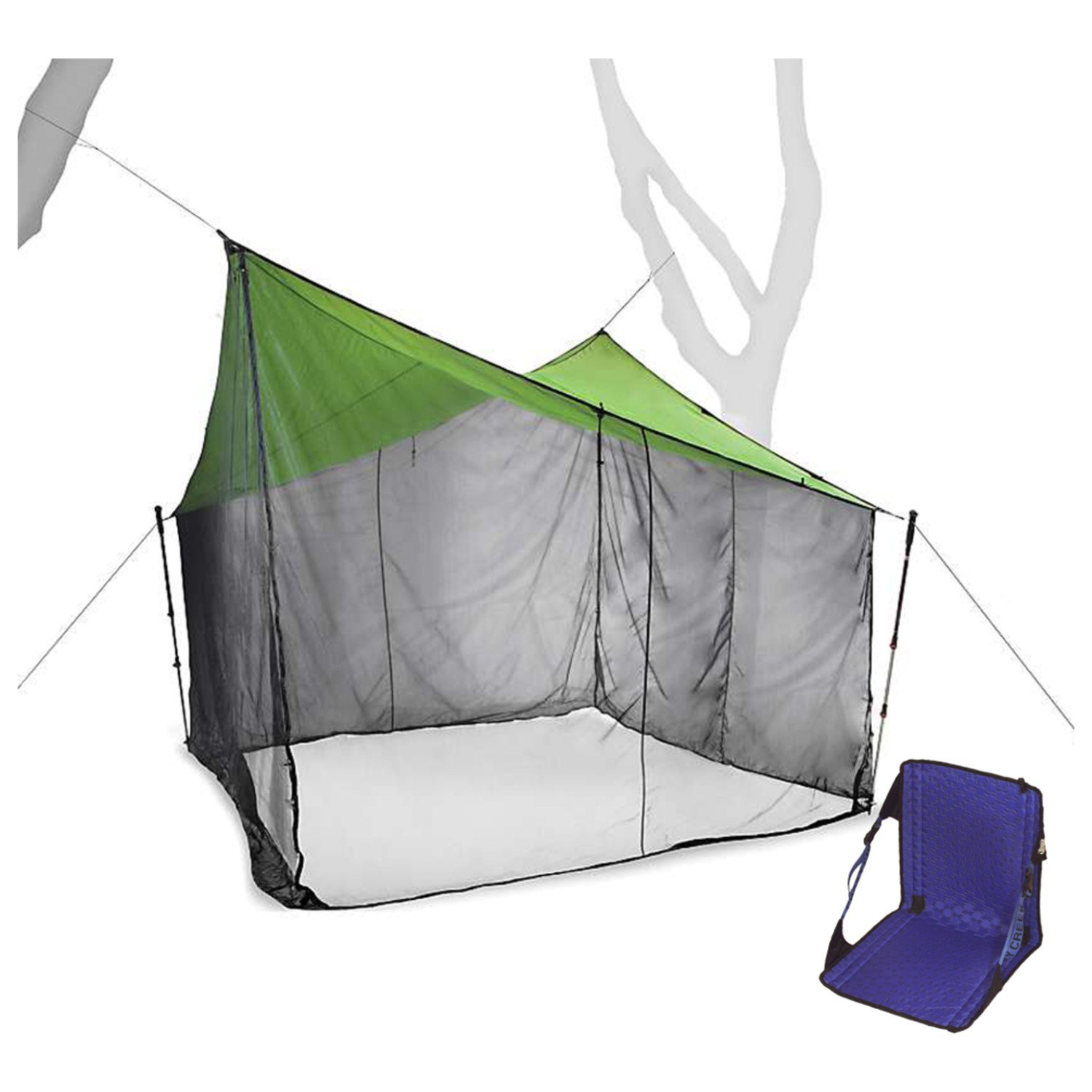 Nemo Bugout 9x9 Bug Shelter w/ Free Campng Chair