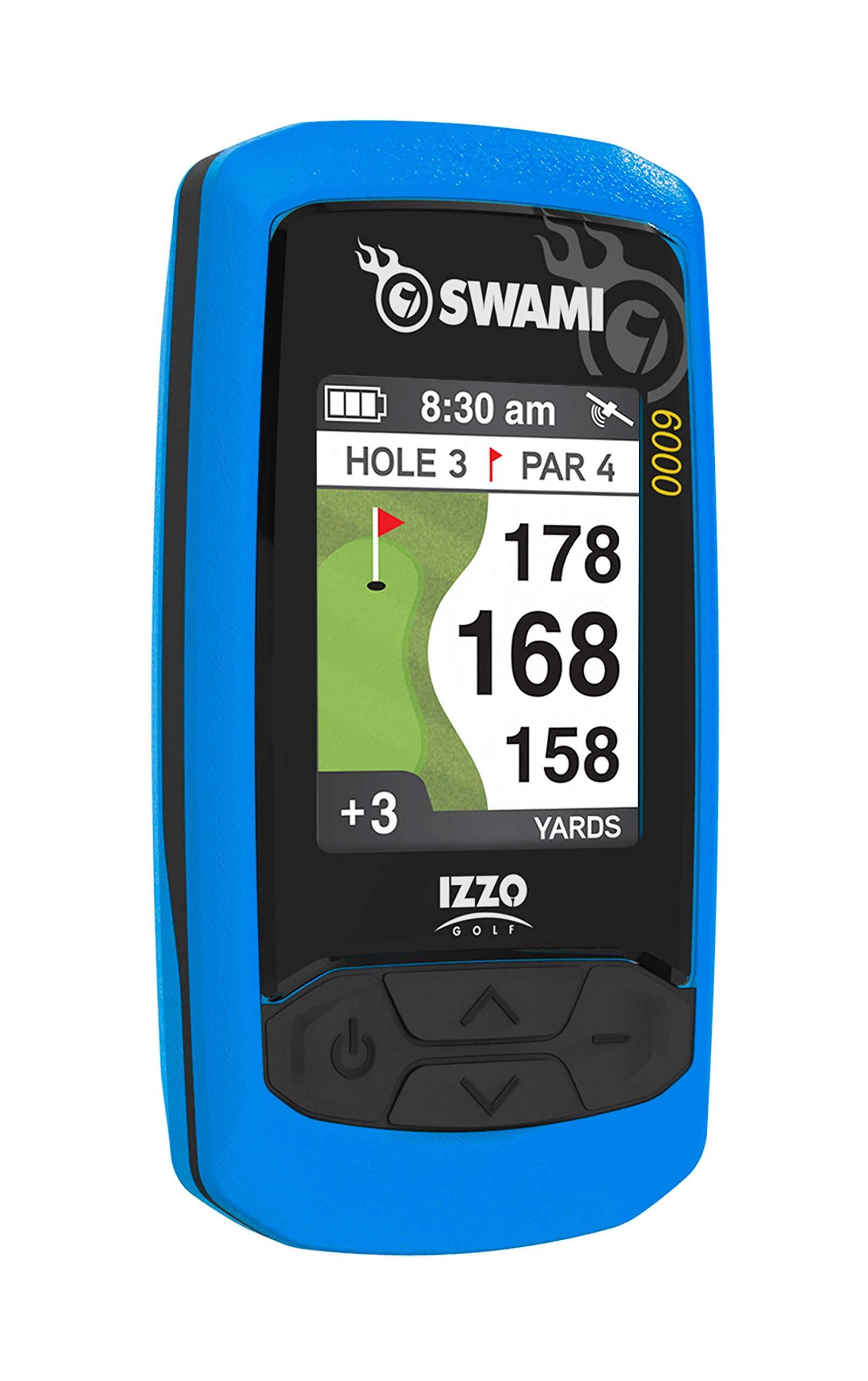 Izzo Swami 6000 Handheld Golf GPS, Blue by Izzo
