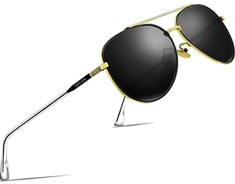 f11c64e52df79 SIPLION Driving Polarized Sunglasses Man For Mens Womens Mirrored Sun  Glasses UV400 PROTECTION 7077 Black  Amazon.co.uk  Clothing