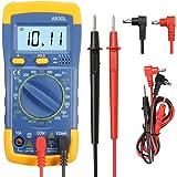 Multimètre Numérique Portable, GOCHANGE LCD Voltmètre AC/DC Amp / Ohm / Volt Mètre, Multi Testeur OHM Détecteur avec 2 Sondes