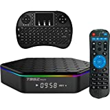 Easytone T95Z Plus Google TV BOX Android 6.0 Amlogic S912 Octa Core 2GB DDR3 16GB EMMC Android TV Box Support 2.4G/5G Dual Band WIFI 1000M LAN 4K 3D With Wireless Mini Keyboard