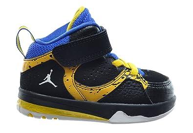 9dee77490b9c9a Jordan Phase 23 2 Baby Toddlers Basketball Shoes Black White-Gym  Royal-Varsity Maize 602675-089