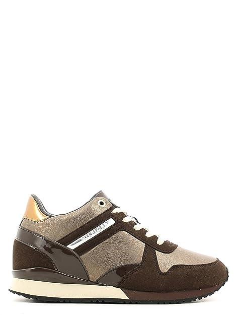 Calzado Deportivo para Mujer, Color Marrón, Marca Tommy Hilfiger, Modelo Calzado Deportivo para