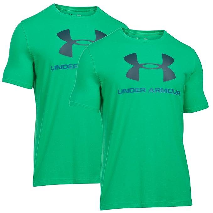 UNDER ARMOUR Hombres HeatGear flojo Charged logotipo del deporte del estilo algodón de la camiseta 2