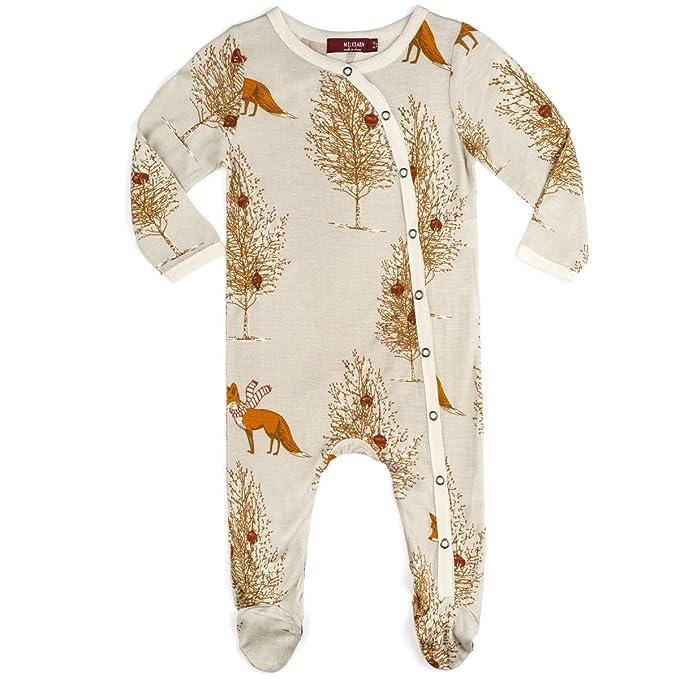 Amazon.com: MilkBarn – Romper de bambú para Navidad – zorro ...