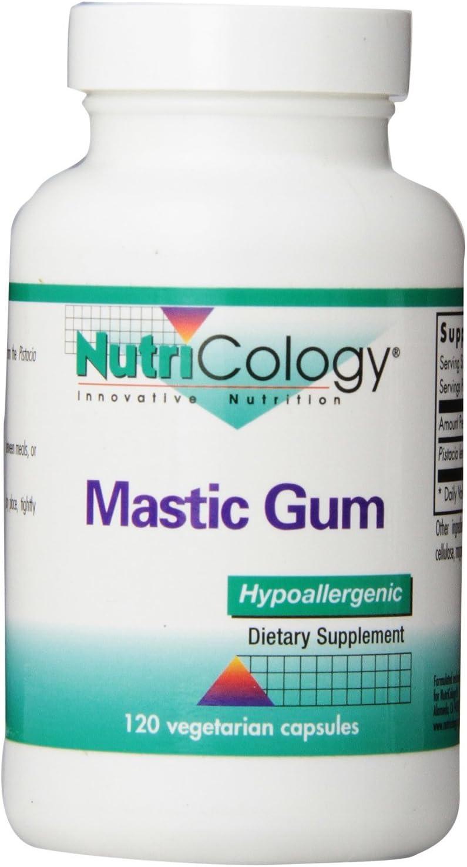 Mastic Gum, 120 Vegetarian Capsules – 2 Pack