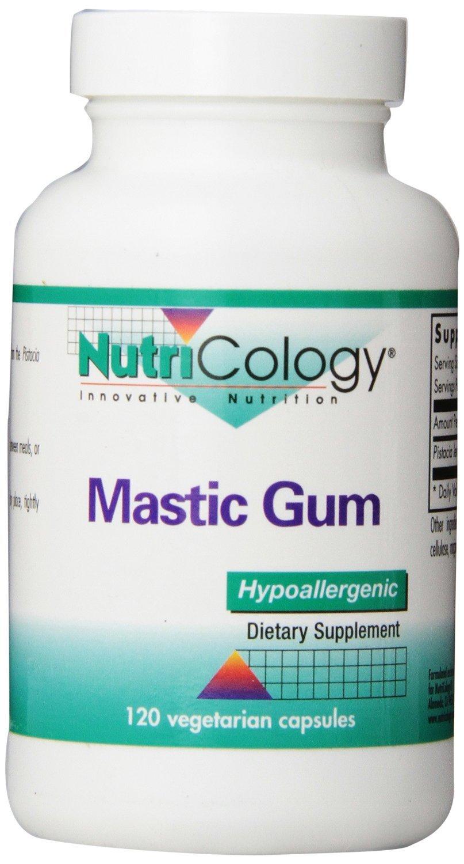 Mastic Gum, 120 Vegetarian Capsules – 3 Pack