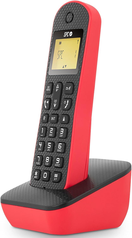 Spc - Teléfono inalámbrico Art 7284r: Amazon.es: Informática