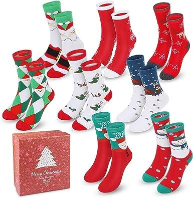 5 Pair Pack Unisex-Baby My First Christmas Socks