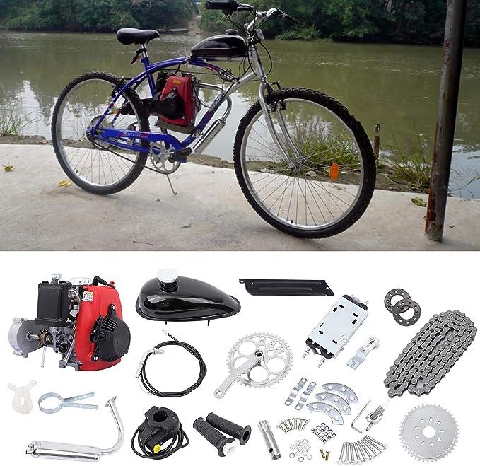 Samger Samger 49cc 4 Tiempos Kit de Conversión de Bicicleta de Motor: Amazon.es: Coche y moto