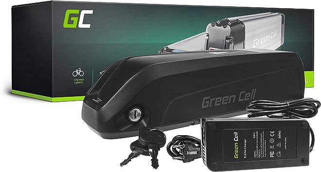 GC® Bateria Bicicleta Electrica 36V 17Ah con Celdas Originales Down Tube Li-Ion Batería y Cargador: Amazon.es: Electrónica