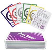 Royal Bingo Supplies Pack of 81 Bingo Calling Cards - Pocket-Sized, Easy-Read 3.5 Inch x 2.5 Inch Poker Wide-Size Game Playing Cards