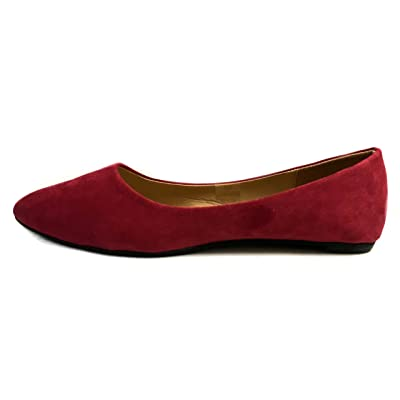 Shoes 18 Womens Pointed Toe Ballet Flat Shoes | Flats
