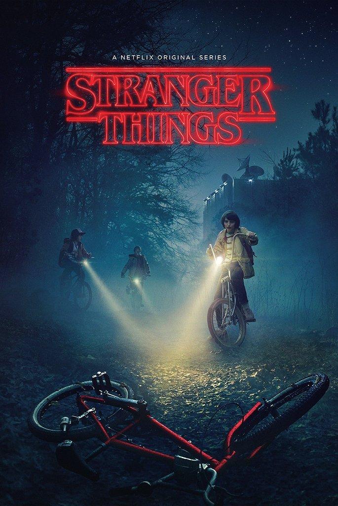 Poster Stranger Things - Bikes 24in x 36in TV Show