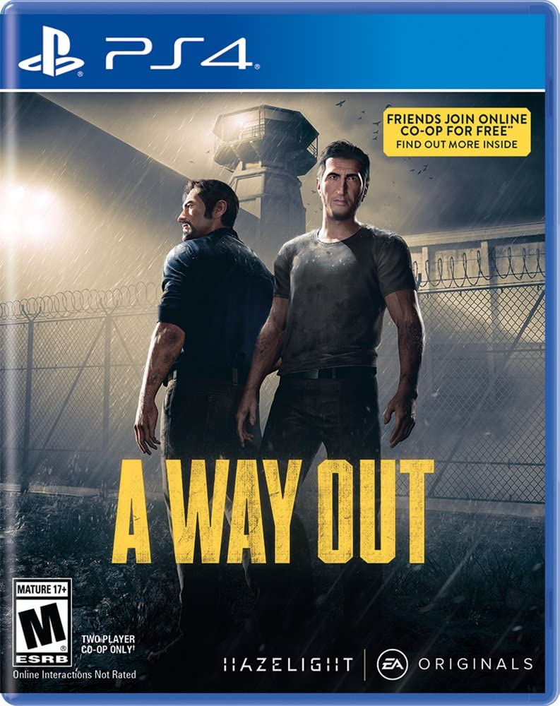A Way Out   Play Station 4 by Electronic Arts