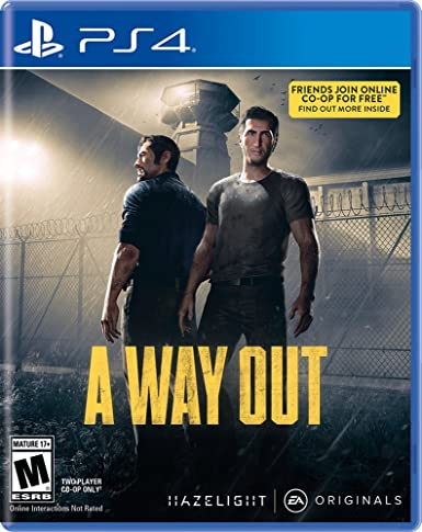 Buy A Way Out (PS4)- Multiplayer online only game Online at Low Prices in  India | Electronic Arts Video Games - Amazon.in