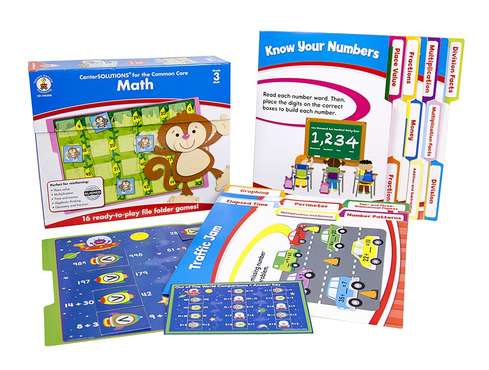 Carson Dellosa Math File Folder Game (140308)