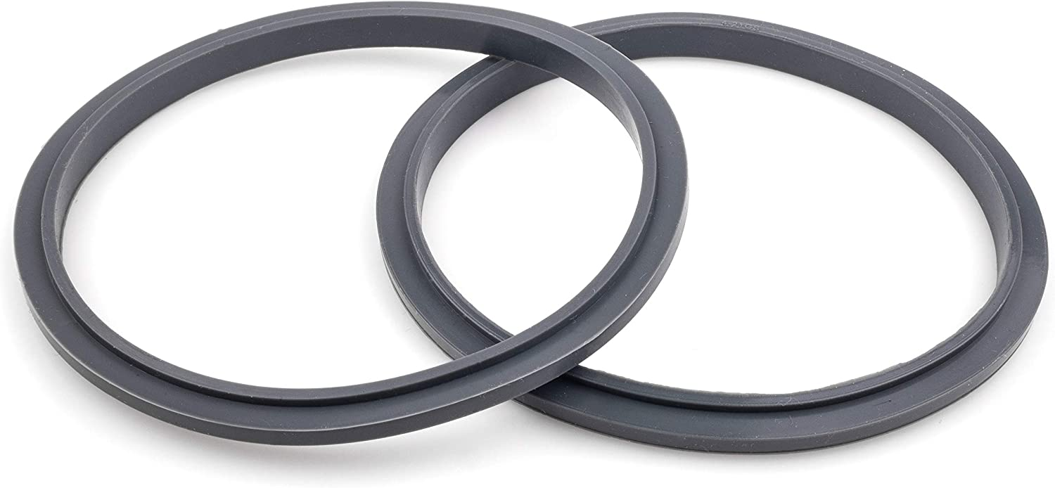 CloudCUP Seal Ring Gaskets with Lip, Pack of 2 Replacement Gasket, Compatible with Nutribullet