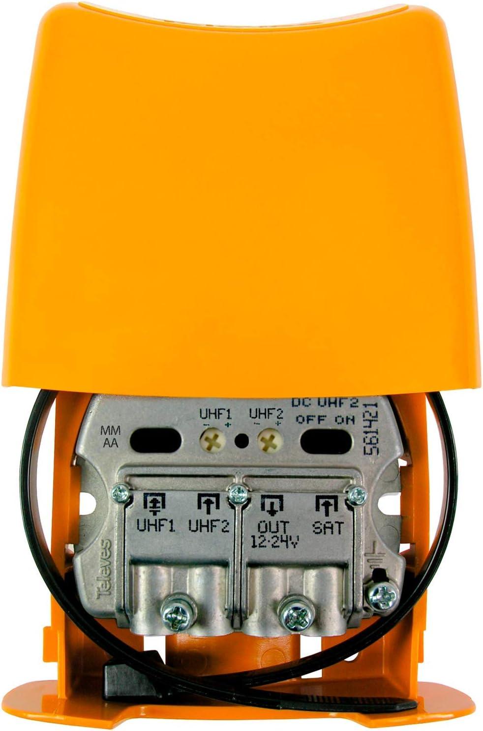Amplificador de mástil NanoKom (LTE700, 2o Dividendo Digital ...