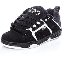 DVS Comanche, Zapatillas de Skateboarding Unisex Adulto, Negro Black White Nubuck 972, 44 EU