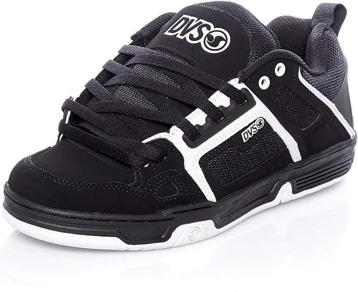 Comanche Skate Shoe, Black/White Nubuck