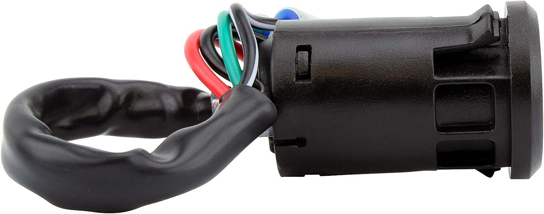 OEM Repl.# 27005-Y001 27005-Y002 KFX 90 2007-2020 Ignition Key Switch for Kawasaki KFX 50 2007-2009 2013-2020