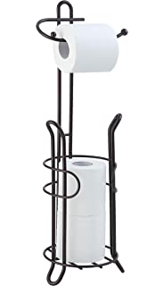 Amazon.com: InterDesign Bruschia Free Standing Toilet Paper ...