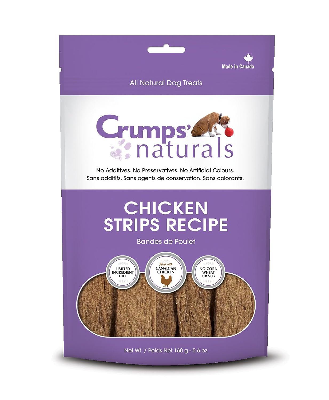 Crumps' Naturals Chicken Strips (1 Pack), 5.6 oz/160g Crumps' Naturals CS-160