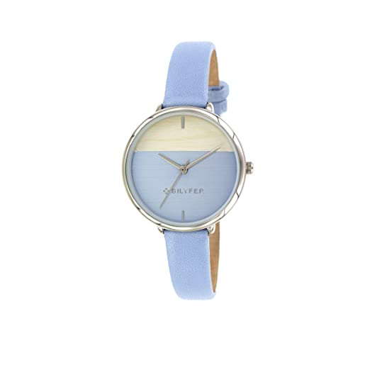 Reloj Bilyfer para Mujer con Correa en Azul y Pantalla en Azul 1F640-AZ: Amazon.es: Relojes