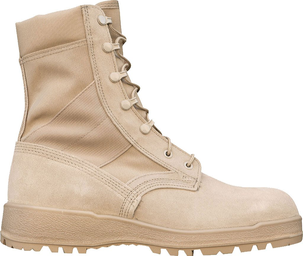 McraeメンズDesert Tan Suede / CORDURA Hot Weatherミリタリーブーツ タン 13 D(M) US 13 D(M) USタン B01EU4UNVW