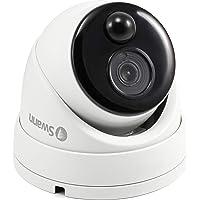 Swann SWPRO-1080MSD-AU 1080p White Dome Camera with PIR Motion Sensor