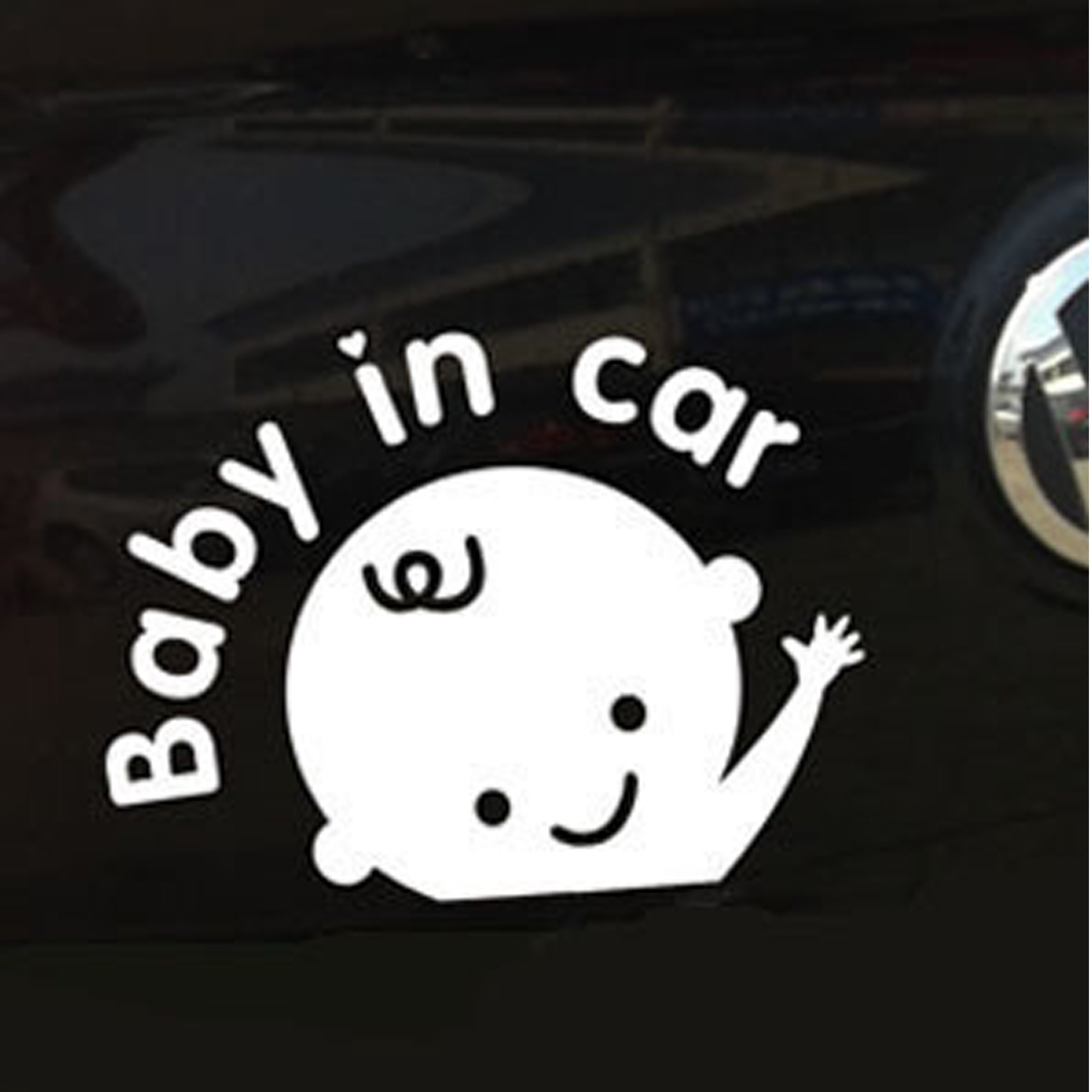 Daft Baby ~ Baby on Board Sticker Hangover Decal Funny 2 Stickers
