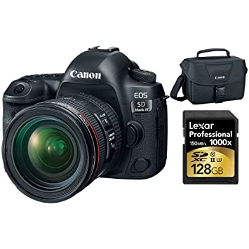 Amazon.com: Canon EOS 5d mark IV 30,4 MP Digital SLR Camera ...