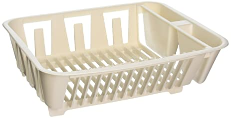 Amazon.com: Rubbermaid Antimicrobial In-Sink Dish Drainer, Small ...