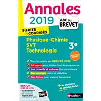 Annales ABC du Brevet 2019 - Physique-Chimie/SVT/Techno
