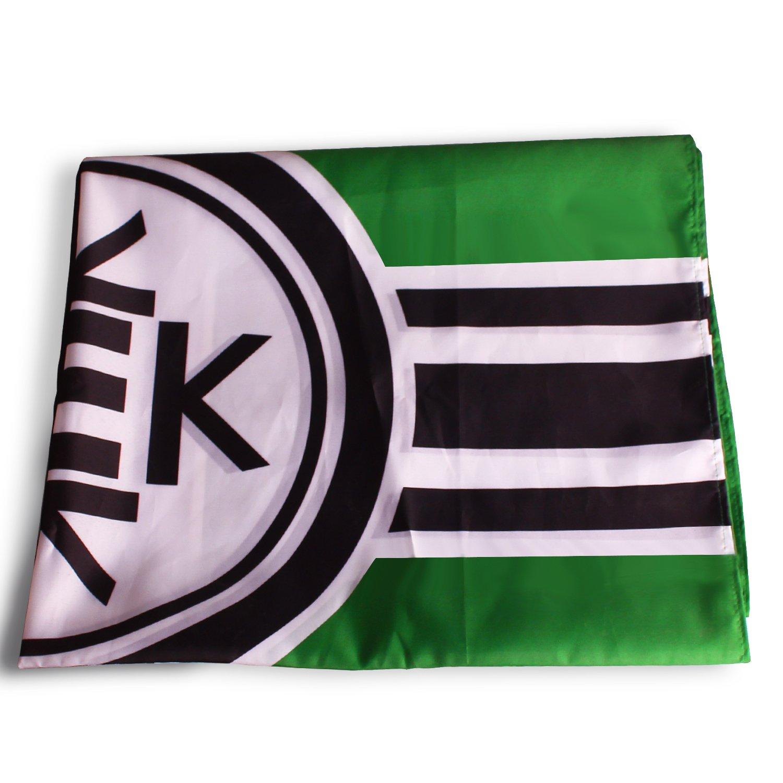 Kekistan ban ra Repubblica Popolare Kekistan pepe la rana 3 X5 Flag 4 Chan Pol Praise Kek Trump con due 14 x 21 1 cm piccolo Kek ban re per libero