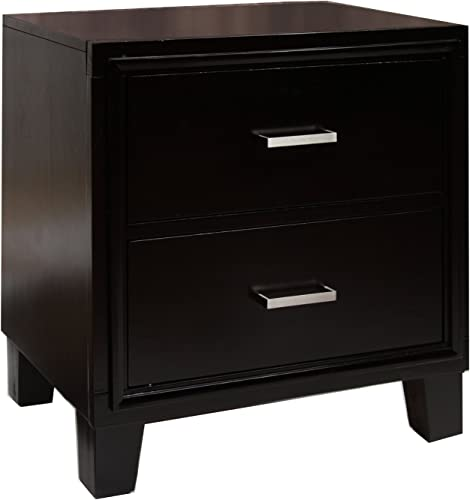 Furniture of America Sutherlin nightstand, Espresso
